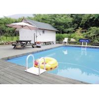 Wholesale Villa Residence Rectangular Metal Frame Pool With PVC Tarpaulin 5*30m from china suppliers