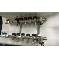 Wholesale Double Hand Wheels Underfloor Heating Manifold With Stainless Steel 201 from china suppliers