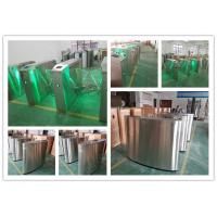 Smart Flap Barrier Arm Gate , Secuirty Roadway Pedestain Turnstile