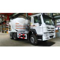 Wholesale SINOTRUK HOWO Euro II 340hp 6x4 8m3 Concrete Mixer Truck With Italian Pump from china suppliers