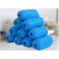 Wholesale Blue Non Woven Shoe Cover Fluid Resistant Non Slip With Ce Certification from china suppliers
