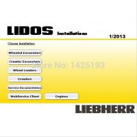 Wholesale Liebherr Lidos 2015 All Parts & Service Complete Set+HDD 500GB Moblie Hard Driver from china suppliers