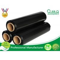 Wholesale Hand Stretch Film Packaging Jumbo Roll , Black / Clear Wrapping Film For Pallets from china suppliers