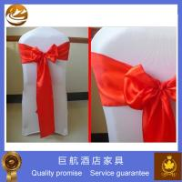 Wholesale Elegant White Wedding Seat Cover from china suppliers