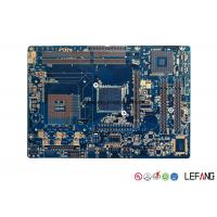 Wholesale 4 Layer Blue PCB Board , Roger PCB Board For Communication Electronics from china suppliers
