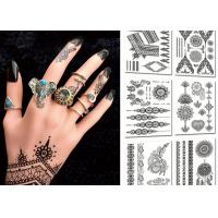 Buy cheap Popular Body Black Color Tattoo Stickers , Temporary Tattoos For Girls from Wholesalers