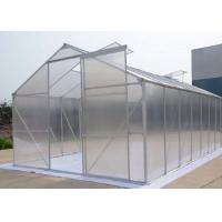 Wholesale 6mm Hollow One Stop Gardens Greenhouse , Transparent PC Sheet Greenhouse from china suppliers