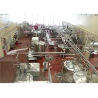 China KQ Series Yogurt Production Line Equipment Low Fat Full Fat UHT 500L 1000L on sale