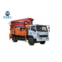 Wholesale 25m 33M  Small / Medium Truck Mounted Concrete Boom Pump Remote Control from china suppliers