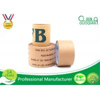 Wholesale Custom Waterproof Fiber Reinforced Kraft Paper Tape For Box Making from china suppliers
