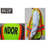 Wholesale Green Reflective Vests , High Reflective Safety Jacket For Election Voting Usage from china suppliers