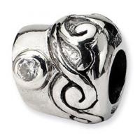 Wholesale Antique Silver Bead Charm from china suppliers