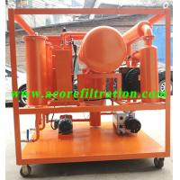 Wholesale High Vacuum Transformer Oil Filter Machine Price for Sale Made In China from china suppliers
