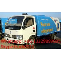 China hot sale best price dongfeng RHD 5.5cubic meters dongfeng road sweeper, factory direct sale 95hp diesel street sweeper for sale