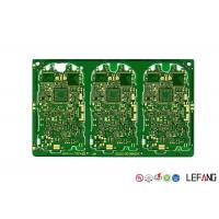 Buy cheap Gold Plating PCB Remote Control Car Circuit Board Green Solder Mask 1.6 Mm Thickness from wholesalers