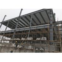 China Customized Size Steel Frame Structure Building / Multi Storey Construction for sale