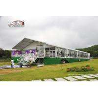 Wholesale Sound Proof Luxury Wedding Tents With Glass Wall for Conference , Exhibition , Warehouse from china suppliers