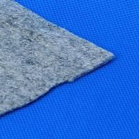 Wholesale Carpet Underlay Polyester Felt Fabric / Blue Felt Carpet Underlay from china suppliers
