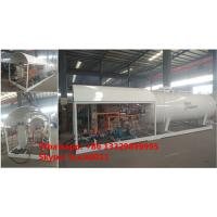 Buy cheap China 5tons mobile skid lpg gas plant for sale, 2500gallons skid-mounted propane gas refilling station for gas canister from Wholesalers