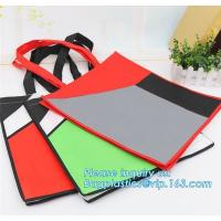 China Promotion cheap 1C simple printing yellow shopping non woven bag, Cheap 100% New Recyclable Whole Bag Heat Sealed Machin on sale