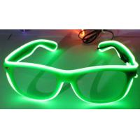 China Sound Activated El Wire Glasses on sale