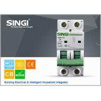 Wholesale 2 Pole Miniature Circuit Breaker C45N 2P20A MCB ab sf6 house circuit breaker from china suppliers