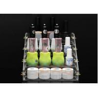 Quality Acrylic Nail Polish Display Stand Cosmetic Custom Retail Displays for sale