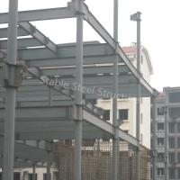 China Factory Manufacturer Steel Structure Workshop with Corrugated Roofing Sheets on sale