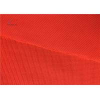 China EN 20471 Orange Colour High Visibility 100% Polyester 120GSM Fluorescent Safety Vest Fabric on sale