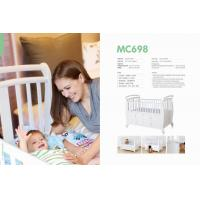 Wholesale High quality solid  wood baby bed,safety testing standards baby bed  for MC698 from china suppliers