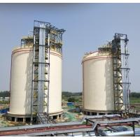 Wholesale Metal Full Capacity Cryogenic LNG Storage Tanks 2X10000m3 LNG Double Layers from china suppliers