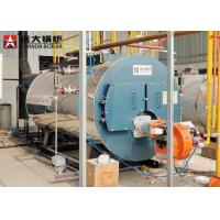 China Horizontal Gas Steam Boiler 8 Ton 5 Ton 3 Ton Per Hour For Laundry for sale