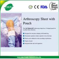 Wholesale ETO sterile knee arthroscopy set,orthopedic set with knee arthrosocopy drape with fluid collection pouch from china suppliers