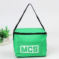 Wholesale Non-Woven Polypropylene exterior and thermal food safe foil lining, logo cooler, ice box for premium, super market gift from china suppliers