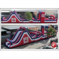 Wholesale Durable Inflatable Obstacle Course , Playground Obstacle Course For Child from china suppliers