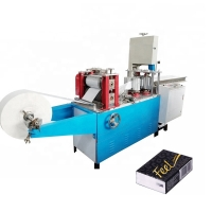 China 1/4 V Folding 125*125mm 650sheets/Min Napkin Paper Making Machine on sale