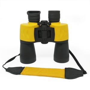 Wholesale Yellow Waterproof Porro Bak4 Prism 12x50 Birding Binoculars With Neck Strap from china suppliers