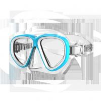 Wholesale Adult Free Diving Mask Snorkeling Set in Transparent Silicone from china suppliers