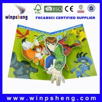 Wholesale handmade 3d birthday card from china suppliers