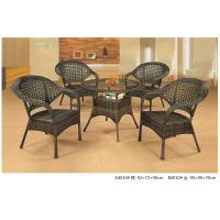 Wholesale 2014 wicker rattan bistro dining table chair set from china suppliers