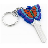 China Fashion Custom House Key Blanks 3D Butterfly Shaped In KW10 And SC1 Profiles on sale