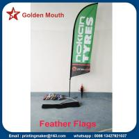 Buy cheap Custom Feather Flags Banners For Outdoor Advertising from wholesalers