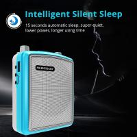 Wholesale Stereo Echo Pa Amplifier UHF Headset Wireless Microphone Loud Speaker Intelligent Smart Wake Up Sleep Auto Connecting from china suppliers
