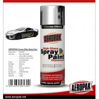 Aeropak fast dry high glossy Chrome Effect Spray Paint, bright chrome color, vivid in gloss, long lasting for sale