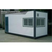 Buy cheap Modern Small Shipping Prefab Container House with Glass Window and Aluminum Door from wholesalers