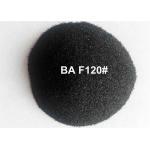 China Black Fused Alumina Aluminium Oxide Blasting Media For Polishing Stainless Steel Tablewares for sale