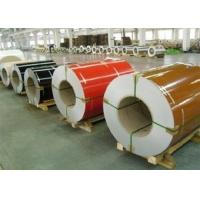 Wholesale Wrinkle PPGI Steel Coils , Aluzinc Steel Coil For Roofing External Wall from china suppliers