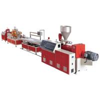 Wholesale Complete PVC Windows / Door Frame Making Machine WPC Profile Production Line from china suppliers