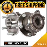 Wholesale 2 New Rear Left and Right Wheel Hub Bearing Assembly Pair w/ ABS GMB 760-0010 from china suppliers