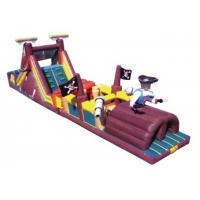 Quality Pop Commercial Inflatable Obstacle Course , Commercial Indoor Obstacle Course for sale